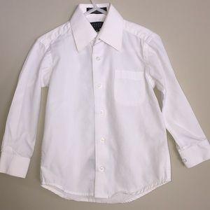 Bergamot New York Toddler Boy Dress Shirt Size 4T